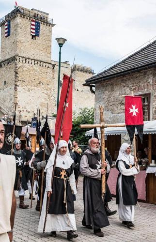 kozepkori forgatag Diósgyőri vár 2018.07.28-29.