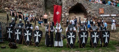 XVIII. Középkori Várjátékok Boldogkő várában 2019.08.03.